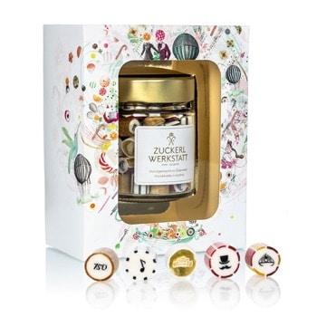Individuelle Bonbon-Verpackung in einer schönen Geschenksbox