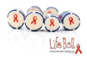 Werbebonbons mit Logo vom LifeBall