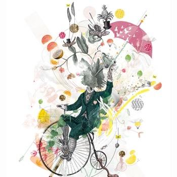 Motiv für die Zuckerlwerkstatt von Designerin Anita Brunnauer (studio nita)