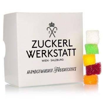 Fruchtgelees Würfel classic mit Karton