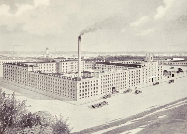 Bild der Heller Bonbon Fabrik im 10. Wiener Gemeindebezirk von 1899
