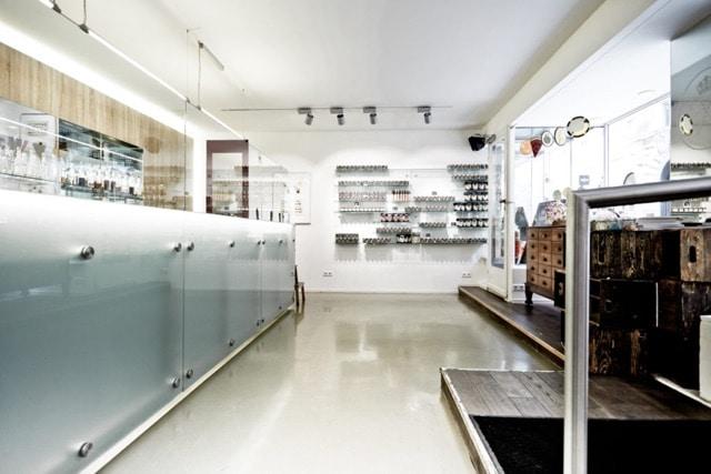 Ladengeschäft und Schaumanufaktur der Zuckerlwerkstatt in Wien